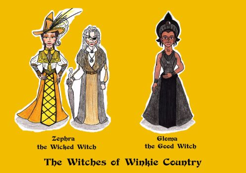 The Winkie Witches of Oz (West) by SCDoctor