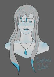 31 Day Challenge - Day 19 Bethel Headshot by bluebuterflyef