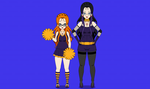 Kisekae Miss Nickleson And Miss Lovestrong by LovestrongArtFan90