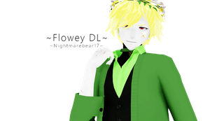 ||MMD|| -Human Flowey- [DL BACK UP] by NightmareBear17