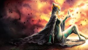 Midna's Yearning by Yuqoi