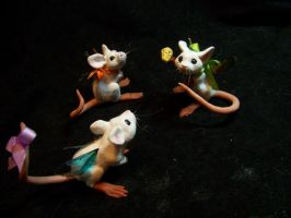 fairy mice by AmandaKathryn