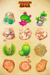 Forestkeepers icons pack 3 by Beffana