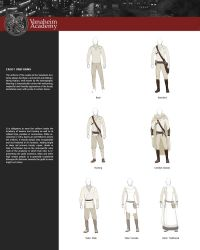Cadet Uniform Sheet by DrakehestOfficial
