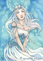 Opal ACEO by MeredithDillman
