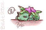 iScribble Ivysaur by cottonball