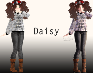 [MMD] Daisy by Emo-Flowers
