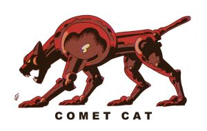 Comet Cat by ChrisFaccone