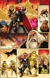 Thor Page 01 Ink Copia by Jaymolandio