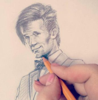 Doctor Who/ Matt Smith by ladyselenka