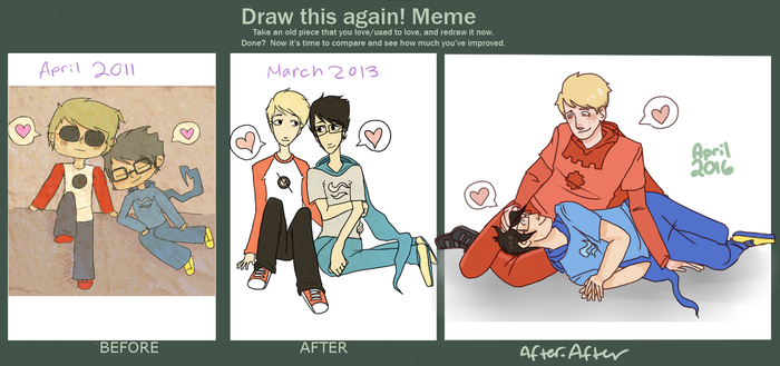 JohnDave 5ever improvement by uglyduckbella