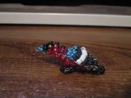 Beaded Bullfinch by Soundstriker