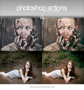 Actions - Brown Tint by So-ghislaine