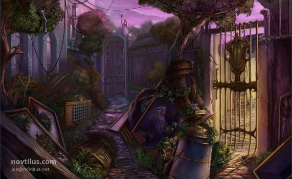 Aviary Grounds by novtilus