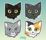 Ohio Cats by Schlady