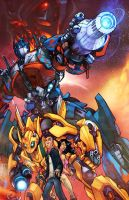 TRANSFORMERS . color by thekidKaos