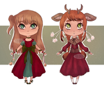 SOLD|| Winter Holiday Adopts by BuurdAdopts