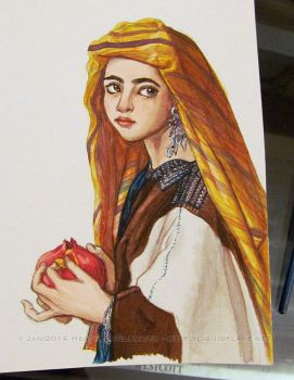 Master Copy - Girl with a Pomegranate by rheall