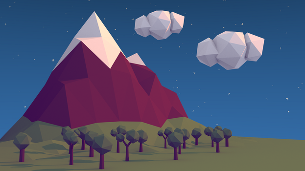 Mountain by Vkrzy