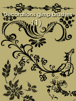 Decorations gimp brushes by ahmadhasan