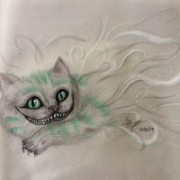 Cheshire Cat- Alice in Wonderland by makimac22