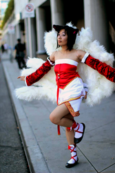 Ahri (League of Legends) by tiger-kat