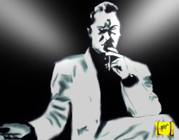 Mike Patton by FictionFathersArtist