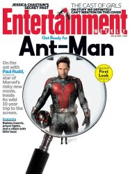 First Look At Paul Rudd As ANT-MAN On EW Cover! by Artlover67