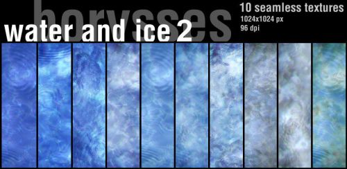 Water and ice 2 by borysses
