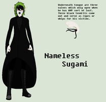 Nameless Sugami Ref Sheet by ICreateWolf13