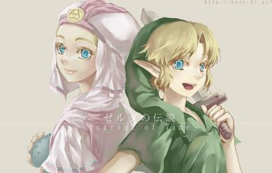 link,zelda by Link-Zelda-club