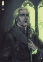 Lucius Malfoy - Palette challenge by JaredKeith