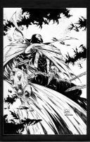 Spawn ink sample... by adelsocorona