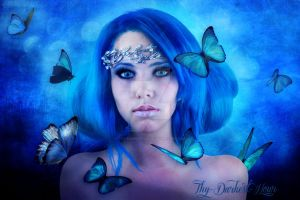 The Butterfly Nymph by Thy-Darkest-Hour