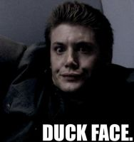 Duck Face Dean by CharlieDaye