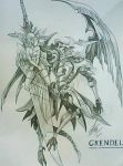Lord of Arcana Summon: Grendel by MemoryFragment
