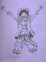 Luffy..!! by vedabitsaha