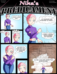 Nika's predicament WickedBust style! Pt.1 by CMGjim