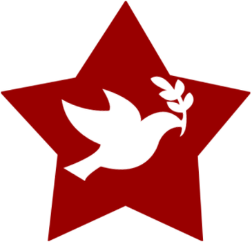 Socialist Dove Star. by RedAmerican1945