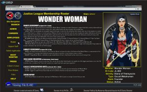 Roster Files - Wonder Woman by Roysovitch