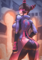 (Street Fighter) Juri Han by Skello-on-sale