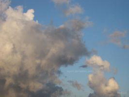 Painting in the sky no.1 by Tegori