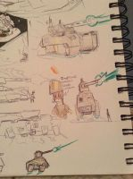 imperial union hover tank designs by Lambda-fallout125