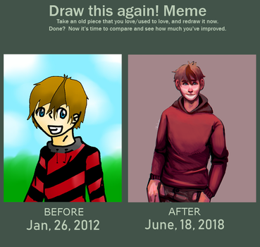 Improvement meme by SavDraws