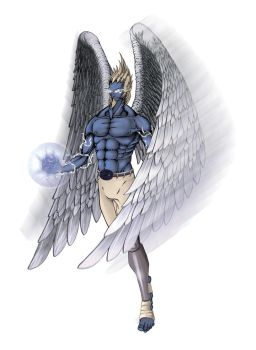 blue garuda by incognito0111