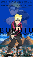 Toonami - Boruto Poster by JPReckless2444