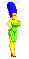 Marge Simpson by Strike-Force