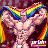 Pride 2016 by TheFabulousCroissant