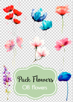 Pack flower # 01 by andreakaisoo
