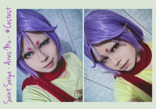 Saint Seiya - Costest Aries Mu by NeeYumi